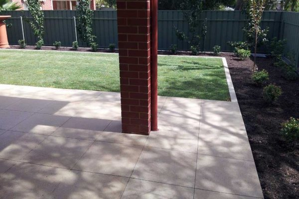 Milled and Sandblasted - Exposed Aggregate Concrete