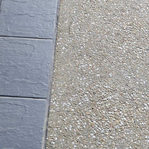 Tile Inserts - Exposed Aggregate Concrete