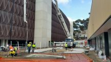 Laying Concrete at the Flinders Medical Centre Redevelopment