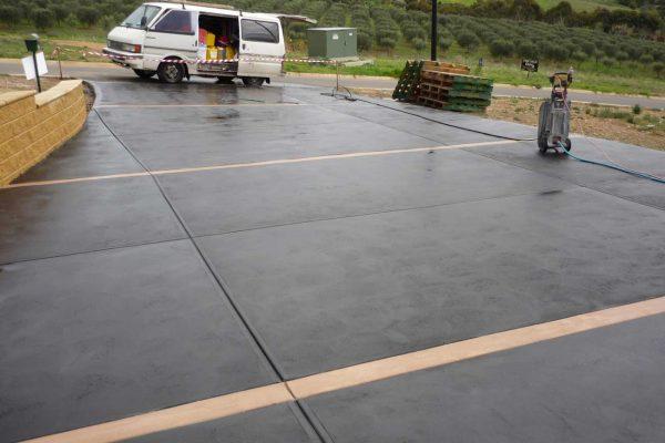 Coloured Concrete Options