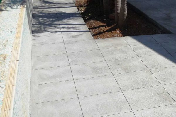 Handcrafted Saw-Cut Concrete Decorative Paving
