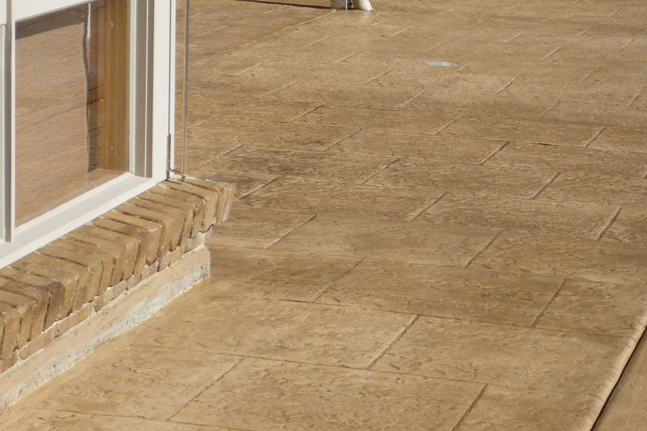 Tile Finish - Stamped Concrete