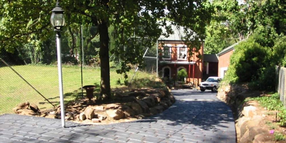 Cobble Finish – Stamped Concrete